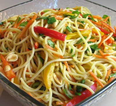 Morning 2 Midnight: Asian Noodle Salad