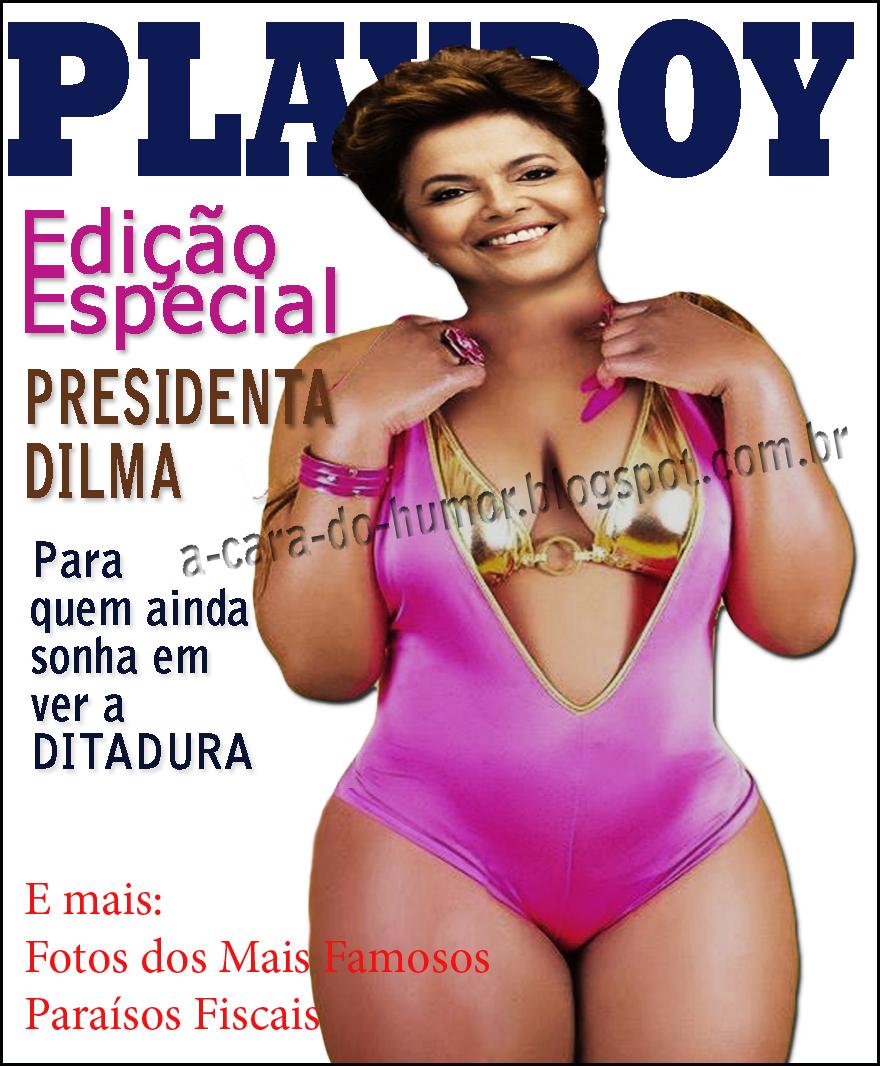 Dilma Na Playboy