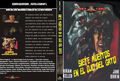 Siete muertos en el ojo del gato | 1973 | La morte negli occhi del gatto