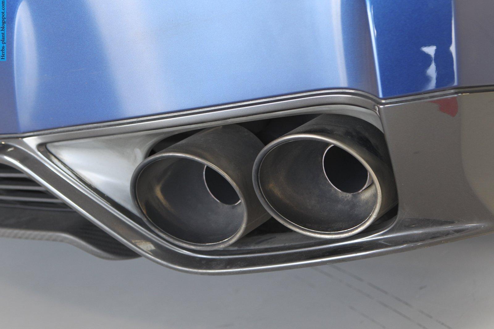 Nissan GT-R car 2013 exhaust - صور شكمان سيارة نيسان جي تي ار 2013