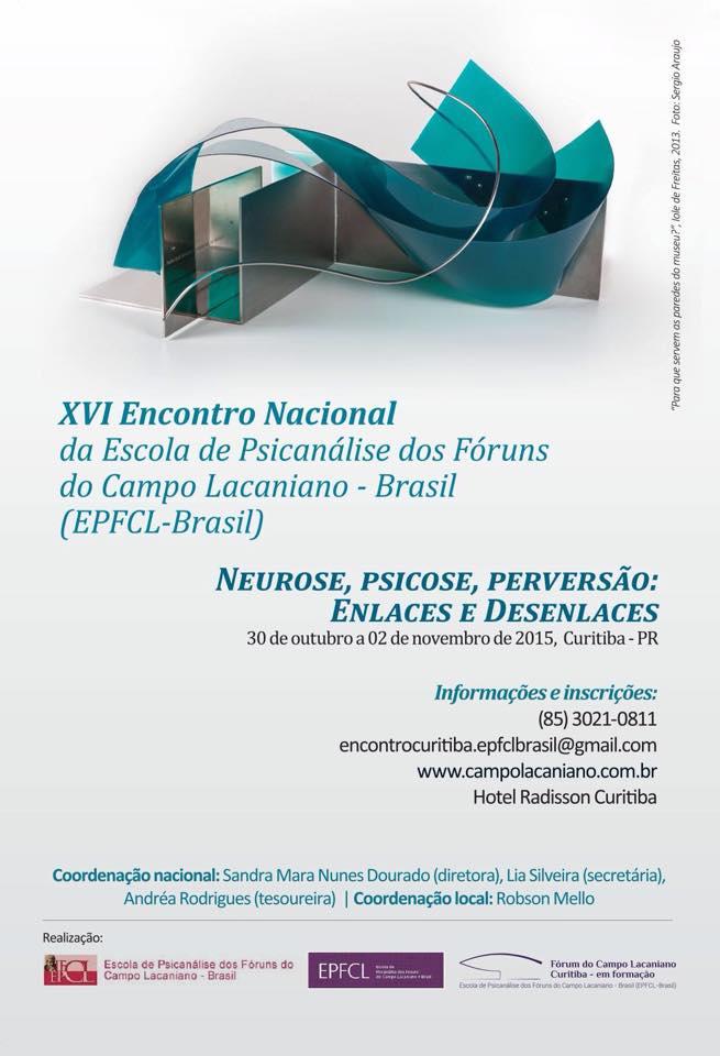 XVI Encontro Nacional da EPFCL-Brasil