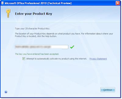 microsoft project product key 2010