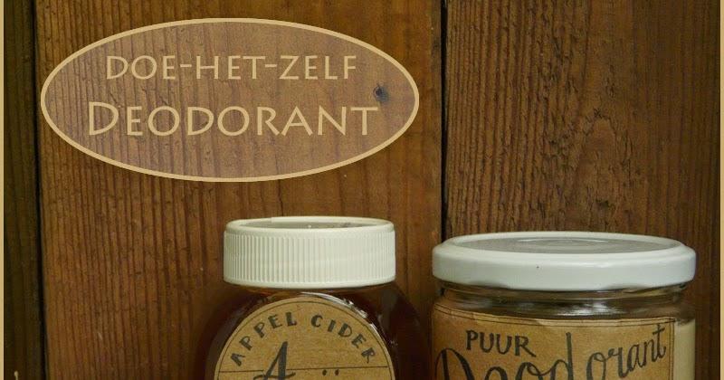 Doe Het Zelf Keuken Maken : huis tuin en keuken C Doe het zelf Deodorant