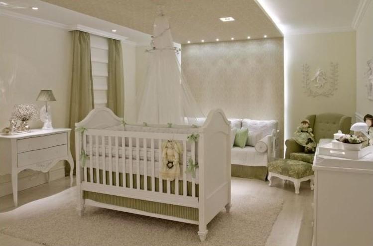 Decoracao De Quarto Verde E Branco ~ Quartos de beb?