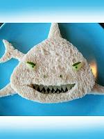 детски сандвич акула