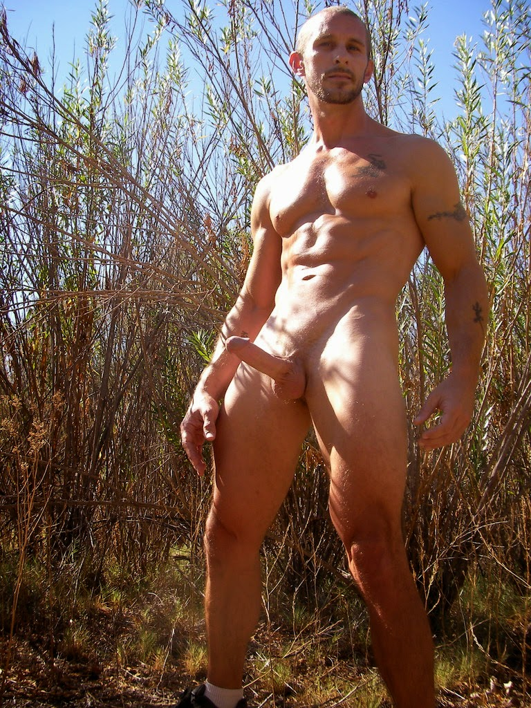 Naked Men In The Woods