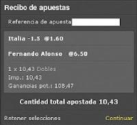 Apuestas Deportivas Rosberg Alonso Formula 1 + Voleibol – Campeonato 2014 + FIVB Gran Copa de Campeones
