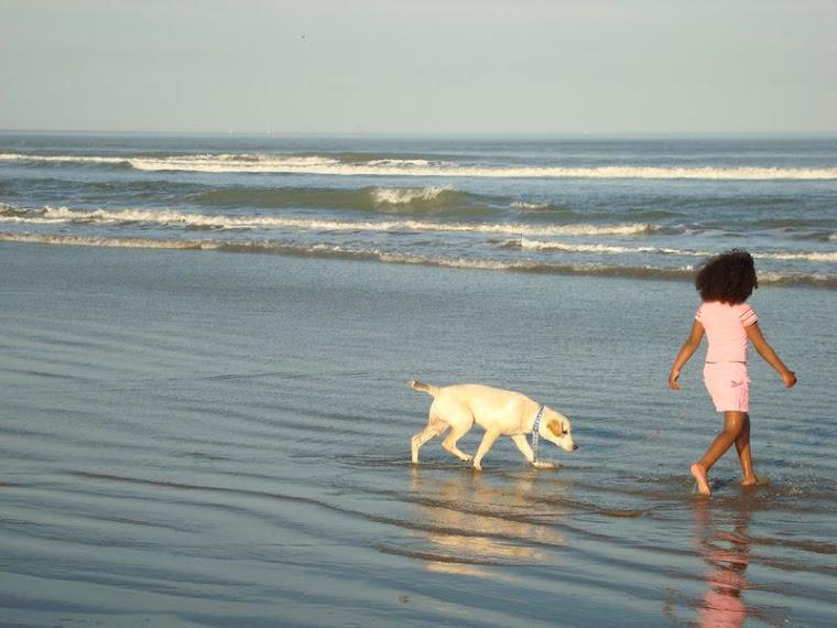 Minha Amada Sobrinha e nosso cãozinho  Hisashi,,,