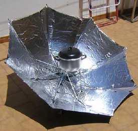 Entorno escorial taller de energ as renovables 2 como for Como cocinar setas parasoles