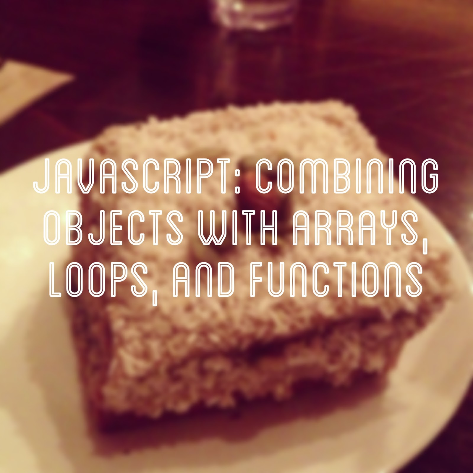 how to put an object in an array javascript
