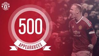 Laga Ke-500 Wayne Rooney