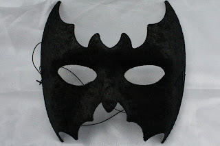 Velvet Bat Masquerade Ball Mask from Theatrical Threads Ltd