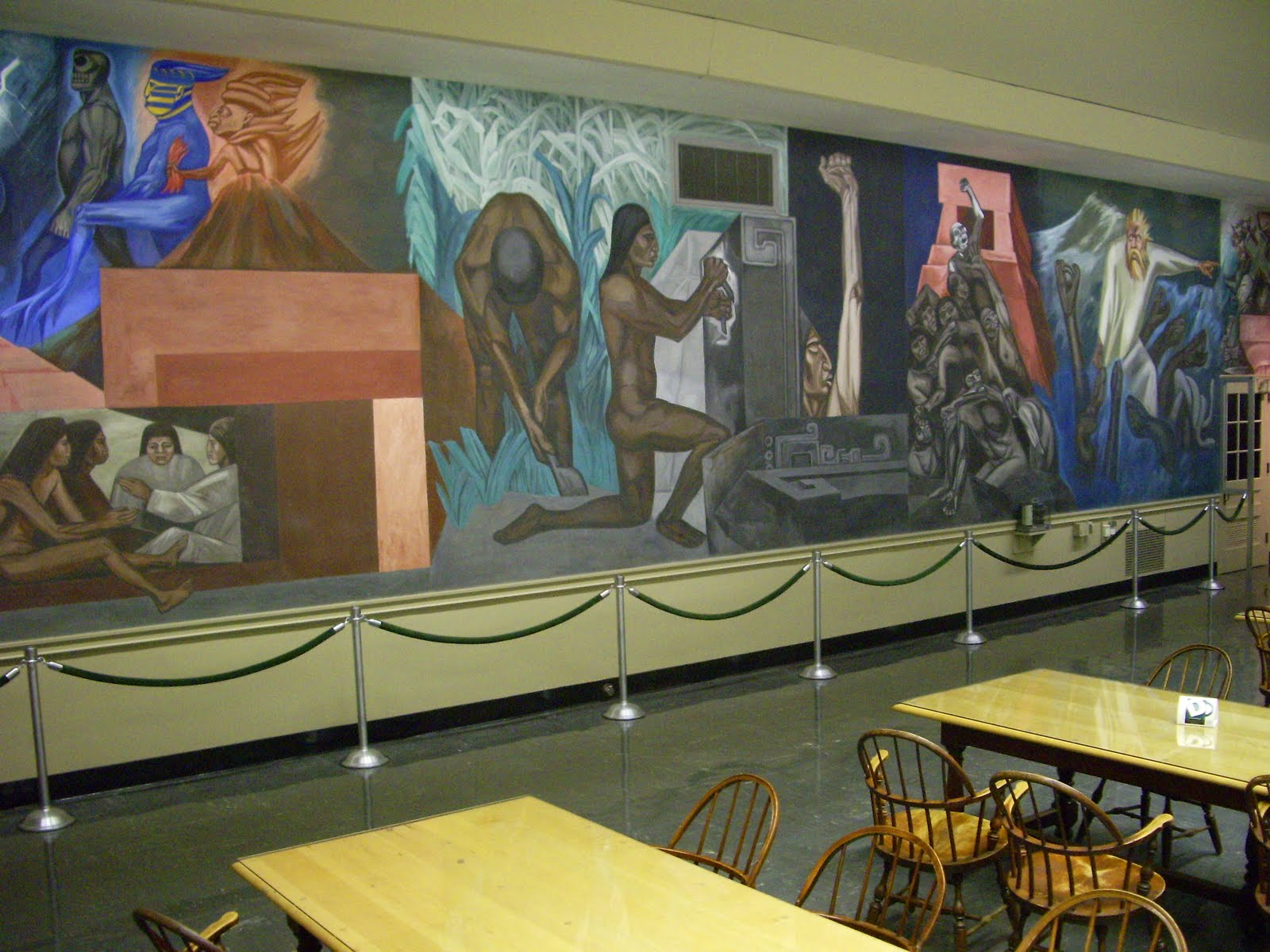 Er mundo de manu jose clemente orozco obras murales for Dartmouth mural