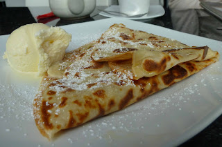 Crepes in the morning