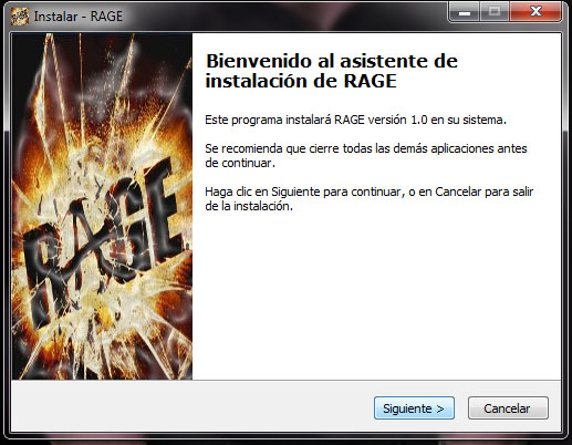 Instalacion Rage 2011 PC FULL