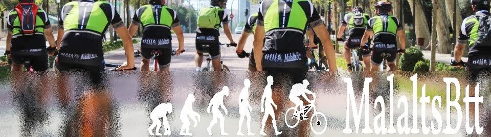 MalaltsBtt. Pasion por practicar BTT bicicleta de montaña en Castellón.
