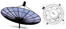 Orientación de la antena parabólica