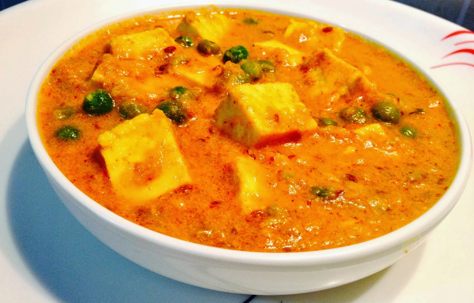 Matar Paneer Recipe - Easy Paneer Mutter Masala - with Step by ...