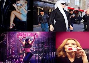 Bastidores do novo clipe de Gaga e Kylie, lançamento do DVD da Britney e Beyoncé arrasando com a Toyota!