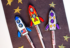easy straw rockets- fun kids craft