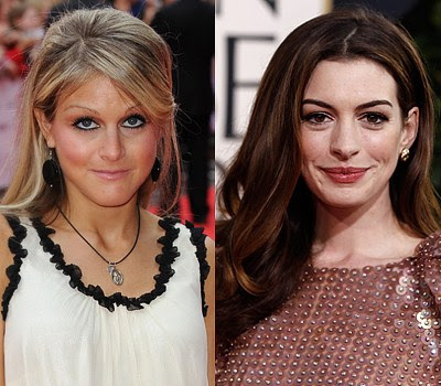 Nikki grahame and Anne Hathaway Which celebrity is the youngest?