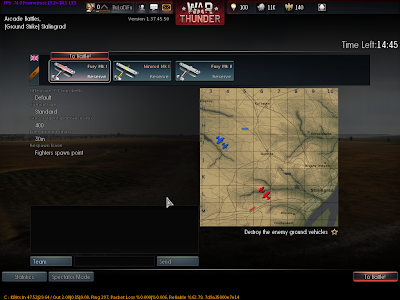 War Thunder - Plane Settings