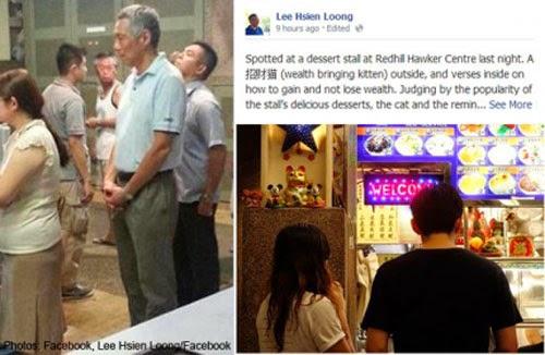 Thủ tướng Singapore Lý Hiển Long xếp hàng 30 phút để mua gà Rán