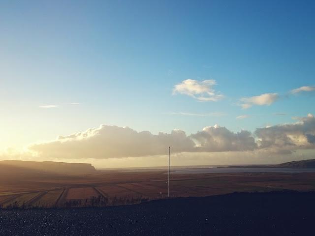 pani dorcia, wyzwanie, fotografia, Islandia, wschód słońca