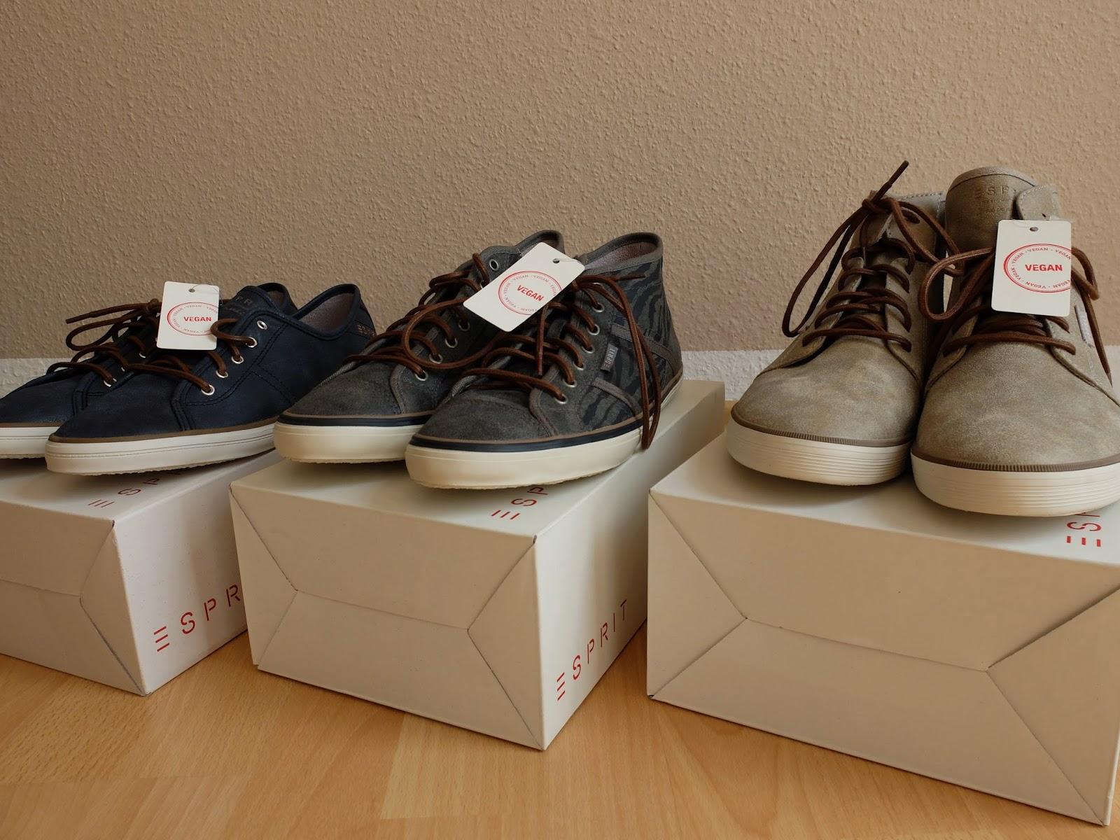 Vegane Schuhe von Esprit
