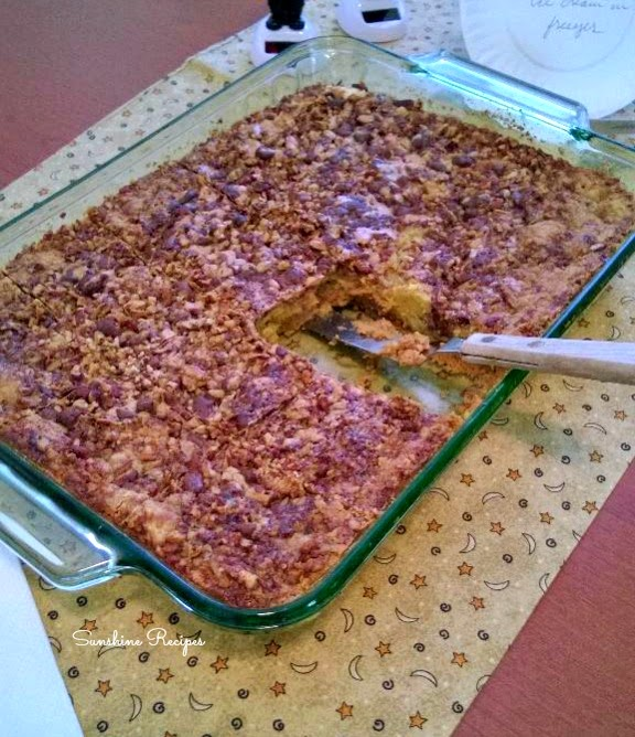 Pumpkin Dump Cake- The new pumpkin pie!