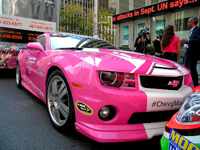 Chevrolet Racing, NASCAR Go Pink Camaro SS pace car