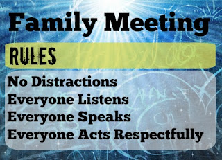 family meeting rules, blended family, stepmom, step mom, step family
