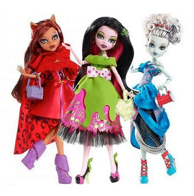 sort of disappointed with Monster High's new Scarily Ever After