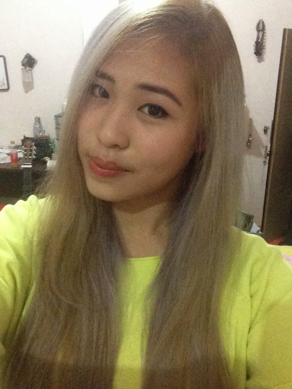 Ivys Stories October 2014 Semir Rambut Top Sorry For The Quality But Turns Out I Didnt Have Pictures Of My Ash Brown Greyish Colour Hair Like This So Much Too Bad Phone Decided