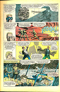 Strange Tales v1 #156 nick fury shield comic book page art by Jim Steranko