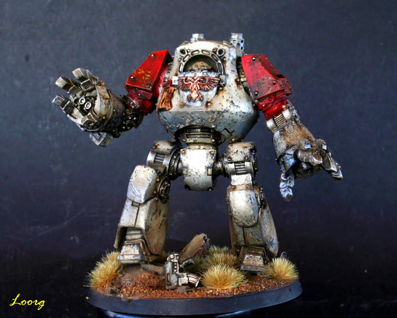 Frontal del Dreadnought Contemptor