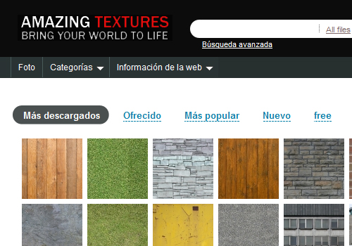 Descargar Texturas Gratis