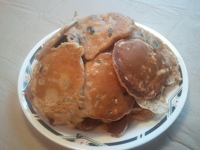 banana blueberry pancakes