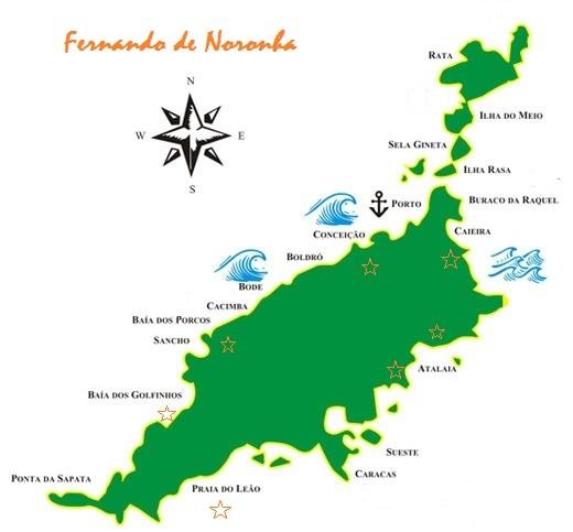 Como llegar, que ver y que hacer en Fernando de Noronha