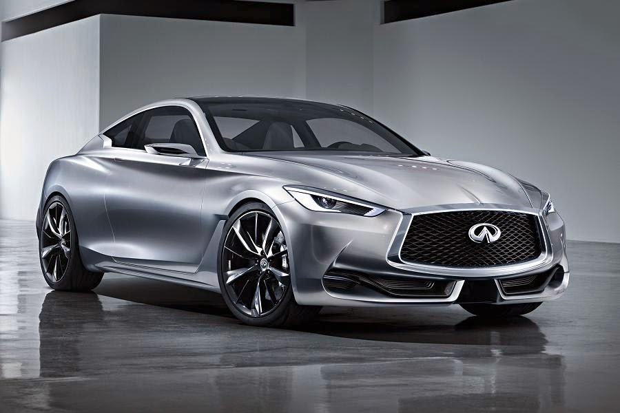 Infiniti Q60 Concept (2015) Front Side