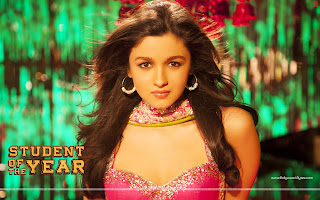 Alia Bhatt HD Wallpaper in Indian Dress from Student of the year movie