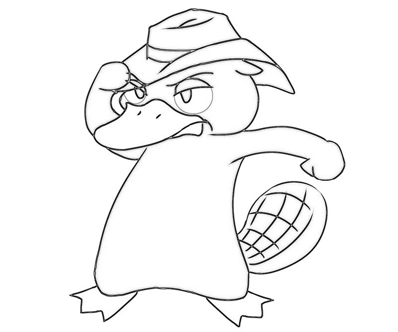printable-perry-the-platypus-sketch_coloring-pages-1