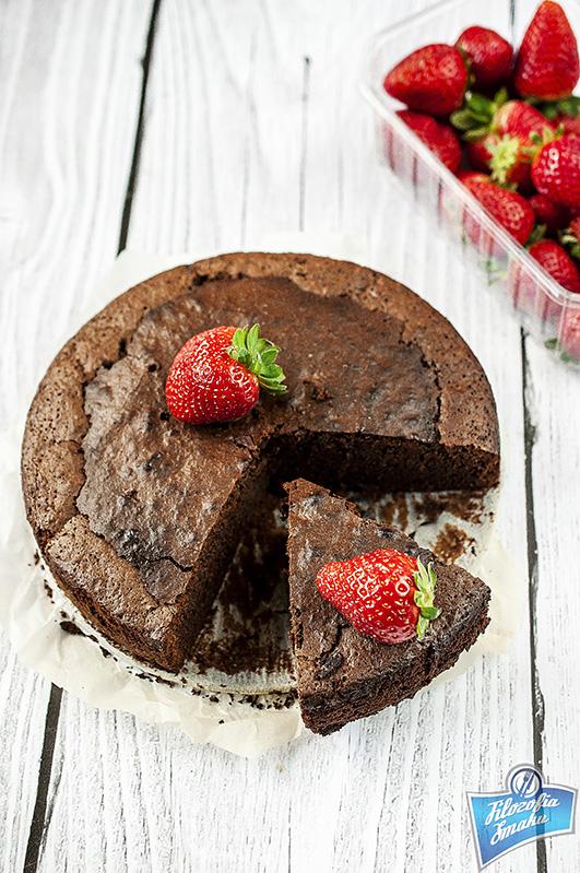 Ciasto z czekoladą i chili