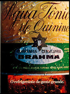 propaganda água tônica Brahma - 1971; os anos 70; propaganda na década de 70; Brazil in the 70s, história anos 70; Oswaldo Hernandez;