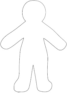 Housewife Eclectic: Free Paper Doll Template