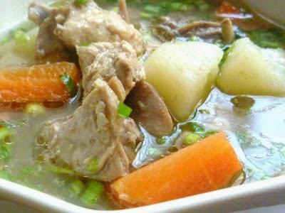 Resepi Sup Ayam Special