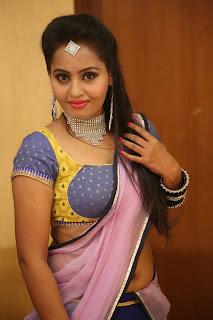 Actress Neetha Sizzling pics in half saree 005.JPG