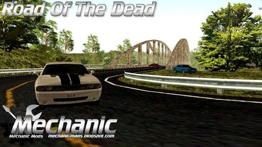 Race Track  Road Of The Dead Mechanic Map mods Mechanic Map Mods