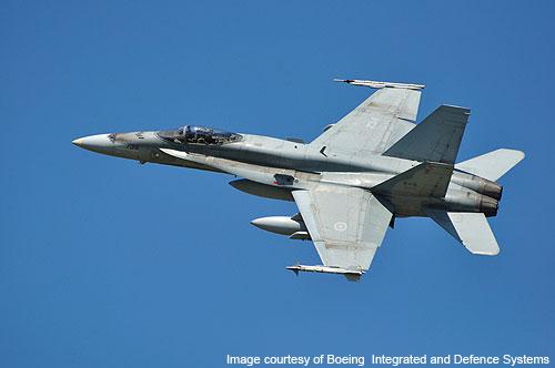CF-18 Hornet Canadian Fighter Aircraft