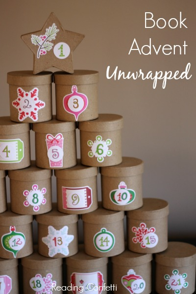http://www.readingconfetti.com/2013/11/unwrapped-book-advent-calendar.html